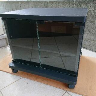 テレビ台棚板キャスター付き