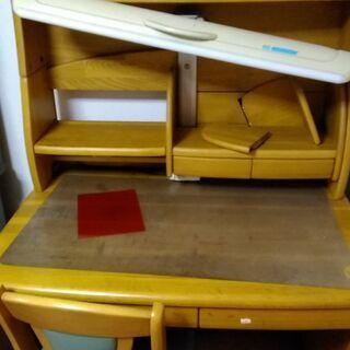 勉強机 デスク 木製