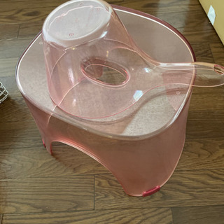 ニトリ お風呂用椅子と桶