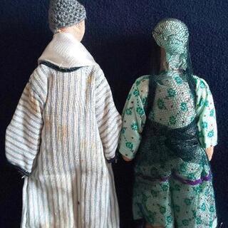エジプトの民芸品 人形2体 - 小金井市