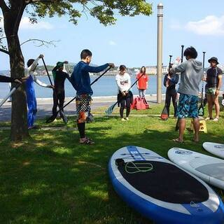 Girls on the Beach Act(SUP、サーフィン...