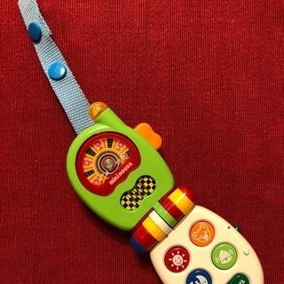 ミキハウス 音の鳴るおもちゃ 携帯