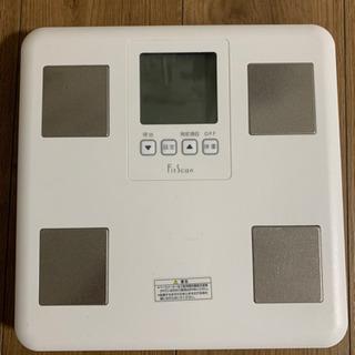 タニタ 体組成計 FitScan 体重計 FS-DG01