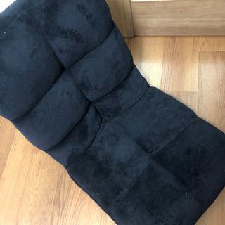 座椅子 モコモコ