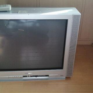 25型ブラウン管テレビ  地デジチューナー付き