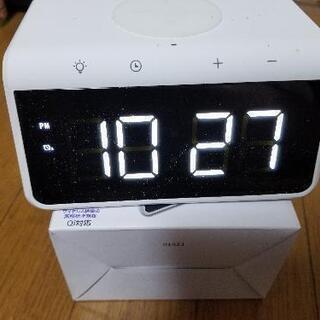 ワイヤレス充電器付き時計