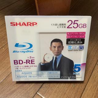 SHARP ブルーレイディスク くり返し録画用 ビデオ用 25G...