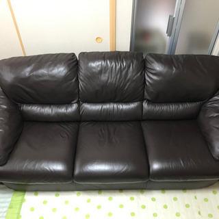 取引中【極上高級品】元値9万円 3人掛けソファー の画像
