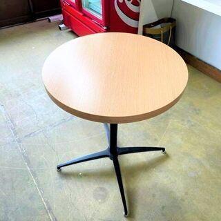 【ネット決済】モダン風 カフェテーブル 600×600×725 ...