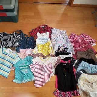 【値下げ】120㎝ 女の子 夏服27点まとめ売り