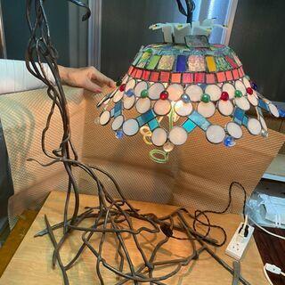 ステンドグラス ランプ4