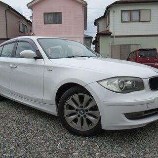 乗出し価格38.9万円★H19 BMW1シリーズ★検4.10.2...