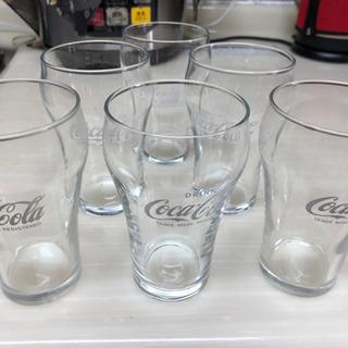 【ネット決済】コカコーラグラス 6個 未使用 再値下げ