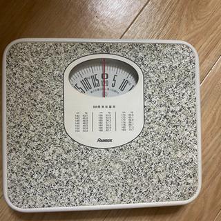 BMI標準体重表付き  体重計