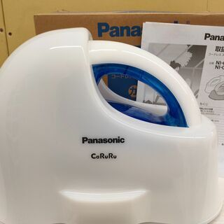 ■中古品 Panasonic コードレススチームアイロン◎2018年製