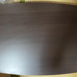 ブラウン 木目テーブル