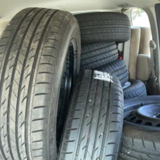 タイヤホイール アルミ 高価買取致します