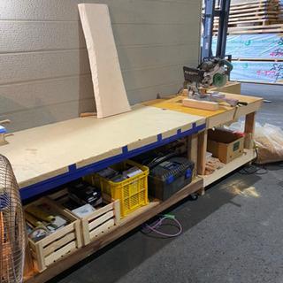 木工品、無垢家具作成、造作材加工、DIY好きな方募集!