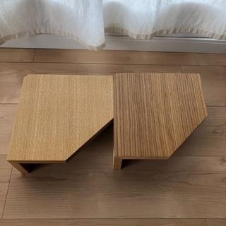 無印良品 壁に付けられる家具 コーナー2個セット
