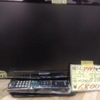 シャープ 19V型 液晶 テレビ AQUOS LC-19K90-...