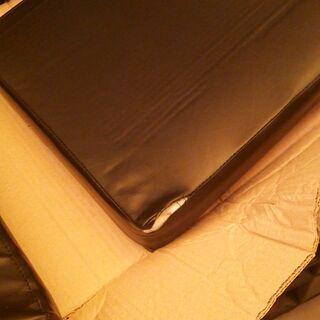 ダイニングチェア【エキューム/ブラウン色】椅子のみ三点セット  訳あり B品 アウトレット品 ※定価26,990円 − 福岡県