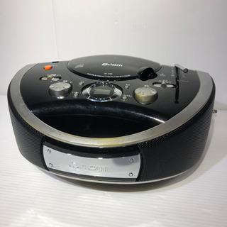 #5458 Qriom CDプレーヤー 重低音サウンド機能 CR...