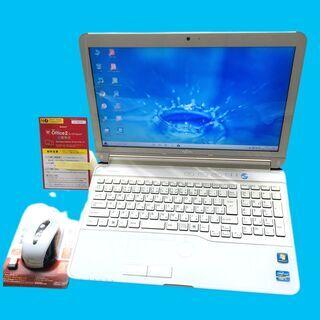 【ネット決済・配送可】美品!新品SSD512GB+メモリ8GB+...