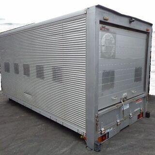 トラックコンテナ 箱 ロングワイド シャッター 4500x218...