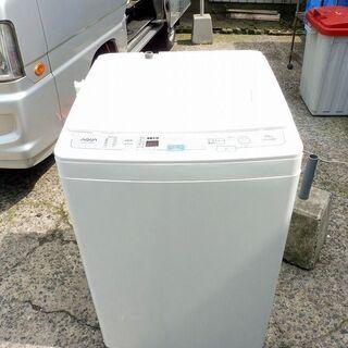 AQUA(アクア)全自動洗濯機 AQW-S70D 7kg 201...