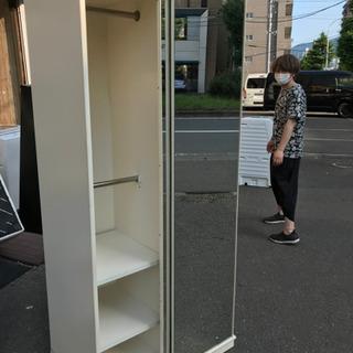 JF02675 ワードローブ 鏡張り - 家具