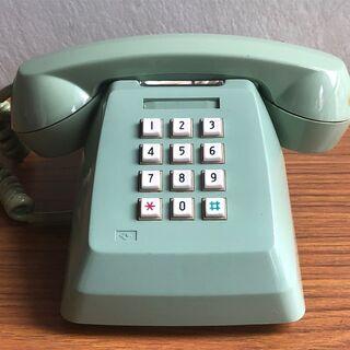 プッシュホン電話機 601-P TOSHIBA レトロ 動…