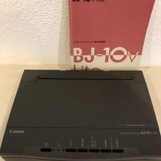Canon バブルジェットプリンタ ジャンク品  BJ-10v ...