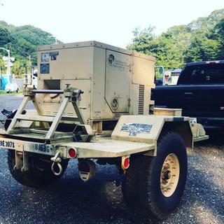 アメリカ軍仕様の発電機のレンタル?