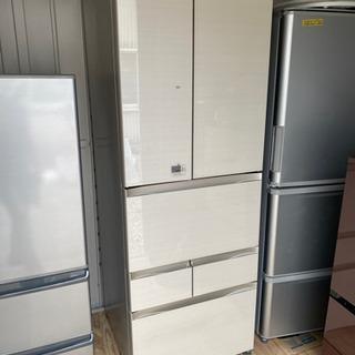 お薦め品‼️東芝6ドア冷蔵庫 508L ガラストップ フレ…