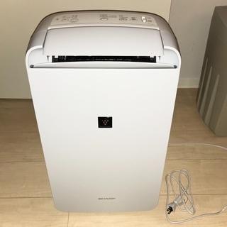 (ほぼ未使用)CM-L100-W SHARP 冷風・衣類乾…