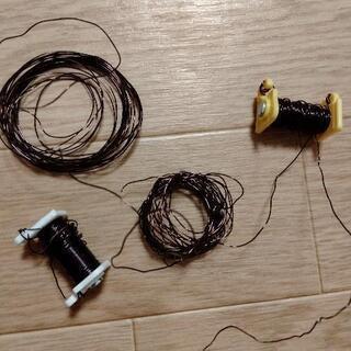 エナメル線 導線 理科の教材の残り