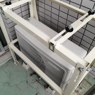 エアコンキャッチャー/室外機架台(二段置き)