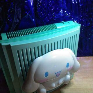 小型空気清浄機・可愛いシナモンロールちゃん付き!扇風機電子…