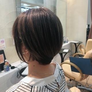 【カット無料】ショートヘアー募集!