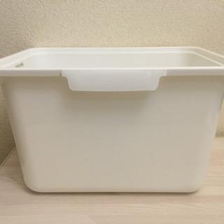 値下げニトリ★カラボにぴったり 収納ボックス 深型 ホワイト