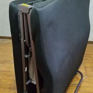 10月末廃棄 あげます 無料 折り畳み シングルベッド リクライニング部故障中 - 家具