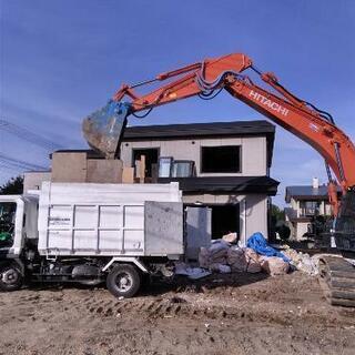 ブロック塀、物置、木、ゴミ撤去します