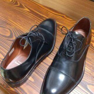 【ネット決済】KENFORD 黒革靴25.5cm