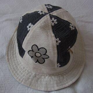 子ども帽子② お花 50cm