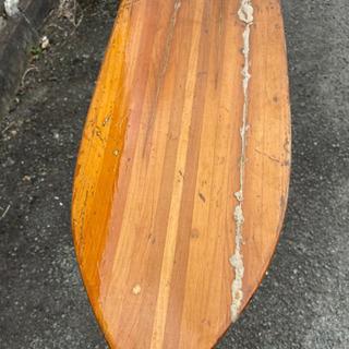 カヤック カヌー 木製パドル
