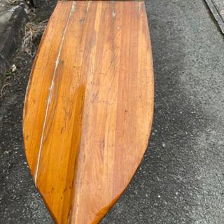 カヤック カヌー 木製パドル - スポーツ