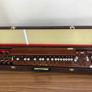 【値下げ】大正琴 全長68cm 琴伝統