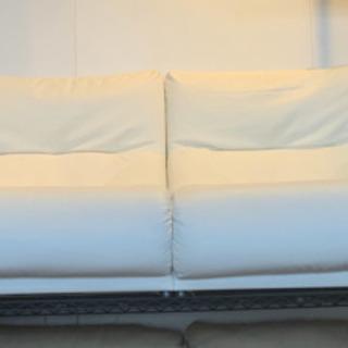 ⭐️10/5 値下げ 高級⭐️MARUICHI リクライニング 3人掛けソファ レザー 肘置き収納 バロン マルイチ 日本製の画像