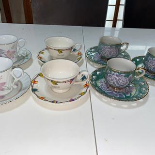 コーヒーカップ 3種類の画像