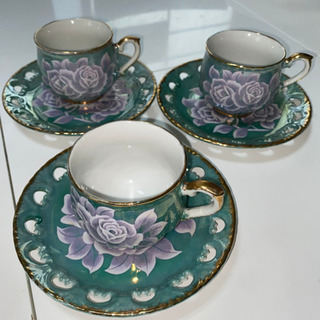 コーヒーカップ 3種類 − 沖縄県